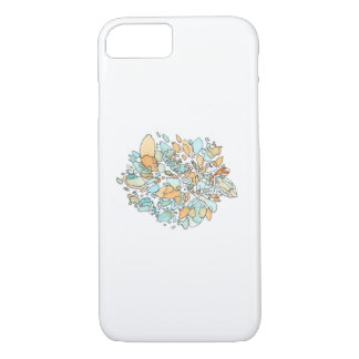 Borders Abstract Watercolor iPhone 8/7 Case