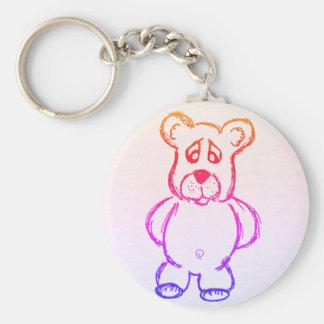 Bordux the bear keychain