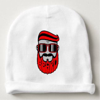 bore red baby beanie