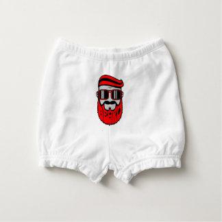 bore red diaper cover