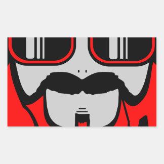 bore red sticker