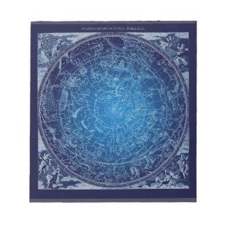 Boreal Hemysphere Sky constellations Notepads