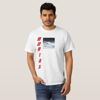 Boreas small satellite orbital launch system. T-Shirt