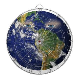 BORED EARTH DARTBOARD
