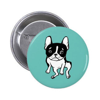Bored Frenchie 2 Inch Round Button