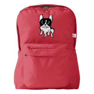 Bored Frenchie Backpack