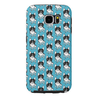 Bored Frenchie Samsung Galaxy S6 Cases