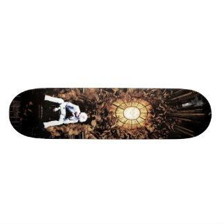 bored king custom skateboard