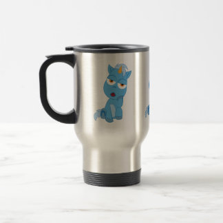 Bored Unicorn - Magical Creature Travel Mug