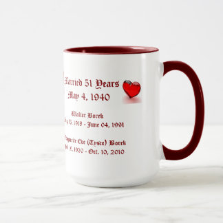 Borek Grandparents 2 Mug