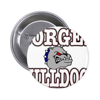Borger Bulldogs Button