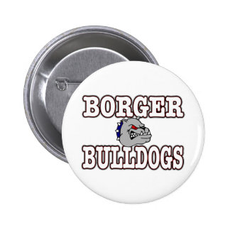 Borger Bulldogs Pinback Button