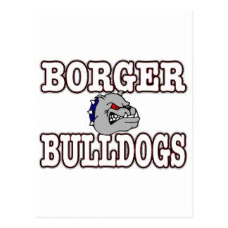 Borger Bulldogs! Postcard