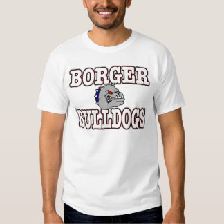 Borger Bulldogs! Tee Shirts