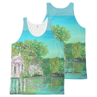 Borghese Park - All-Over Printed Unisex Tank