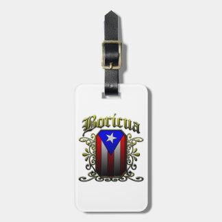 Boricua Luggage Tag