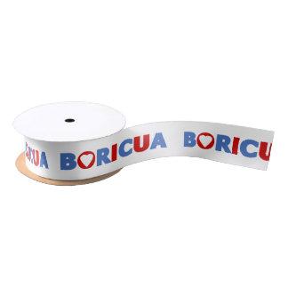 Boricua Satin Ribbon