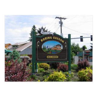 Boring Oregon Postcard