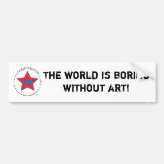 Boring World Bumper Sticker