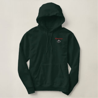 Borinqueneers Embroidered Pullover Hoodie