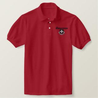 Borinqueneers Polo Shirt (black embroidery)