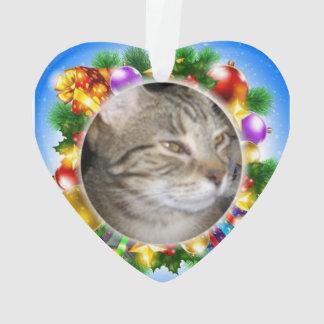boris gives you his heart for christmas ornament