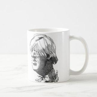Boris Johnson caricature mug
