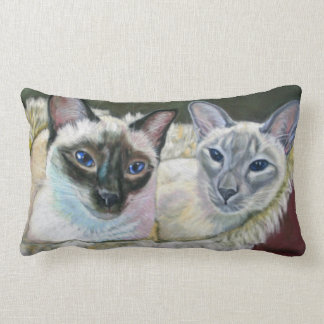 Boris loves Lola cat cushion