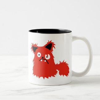 Boris the Cat Two-Tone Coffee Mug