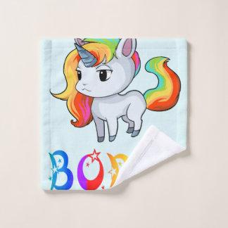 Boris Unicorn Wash Cloth