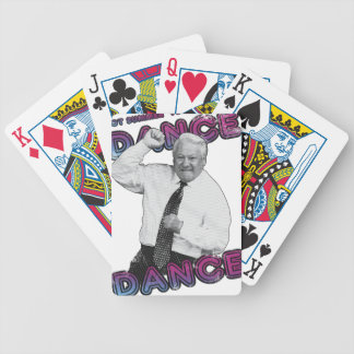 Boris Yeltsin Dance Dance Hot Summer 1996 Bicycle Playing Cards