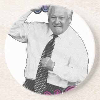 Boris Yeltsin Dance Dance Hot Summer 1996 Coaster