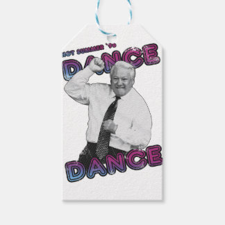 Boris Yeltsin Dance Dance Hot Summer 1996 Gift Tags
