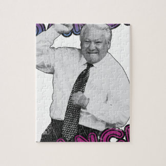 Boris Yeltsin Dance Dance Hot Summer 1996 Jigsaw Puzzle