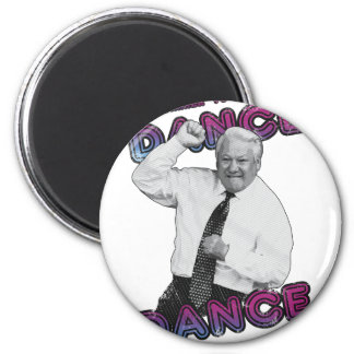 Boris Yeltsin Dance Dance Hot Summer 1996 Magnet