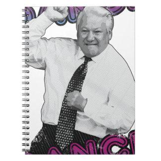 Boris Yeltsin Dance Dance Hot Summer 1996 Notebook