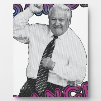 Boris Yeltsin Dance Dance Hot Summer 1996 Plaque