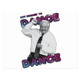 Boris Yeltsin Dance Dance Hot Summer 1996 Postcard