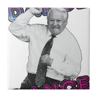 Boris Yeltsin Dance Dance Hot Summer 1996 Tile