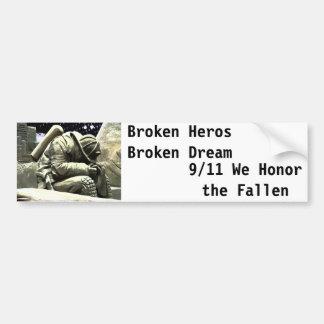 Borken Hero Bumper Sticker