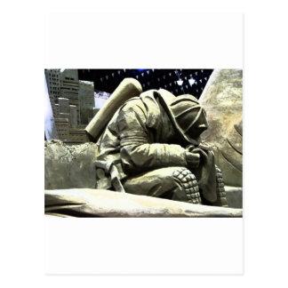 Borken Hero Postcard