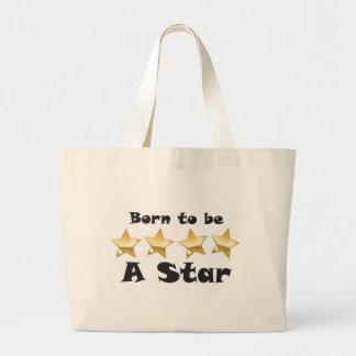 Born2BStar Large Tote Bag