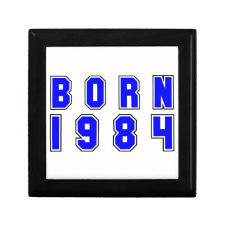 Born 1984 trinket box
