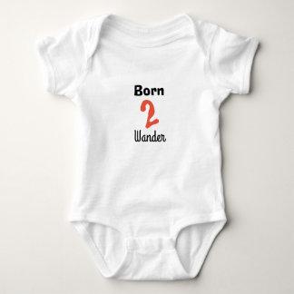 Born 2 Wander Baby Bodysuit