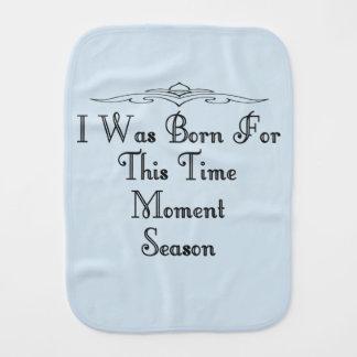 Born 5 burp cloth