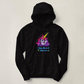 Born A Unicorn Poop Emoji Sweatshirt
