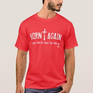 Born Again bible verse John 3 t-shirt