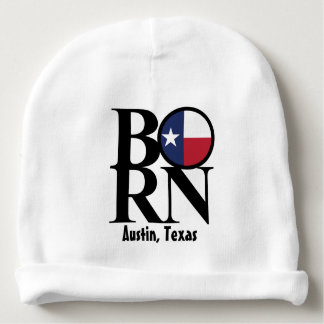 BORN Austin Texas Baby Beanie
