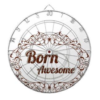 born awesome dartboard with darts