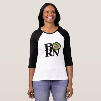 BORN Brazil Ladies Long Sleeve T-Shirt